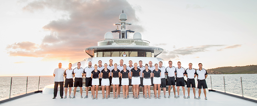 yacht crew for hire